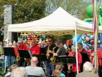 Live music, traditional stalls and fun at a Milford Village Green Fayre