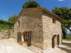 La Capanna - Sight from the south ( An ancient barn)