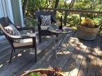 Private Deck off the Sun Room