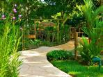 Botanical Gardens Entranceway