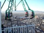 Attractions over 800 feet in the air at the Stratosphere