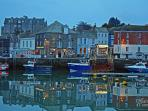 Historic fishing harbour town of Padstow