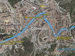 Itinerario recomendado a través de Colmenar