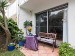 Front courtyard - garden