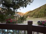This updated, comfortable vacation condo in Telluride provides an ideal getaway during the winter or the summer.