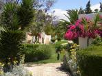 Set amongst 40 hectares of gardens with exotic plants shaded by mature pines & cork oak trees
