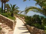 Maria Louisa and Santa Eulalia beaches both offer bars and restaurants