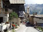 rue dans le village
