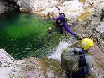 canyoning, rafting à 10km de saint veran dans les gorges du guil