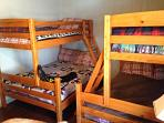bunkbeds in bunk room