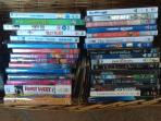 a good selection of family DVDs