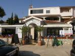 this is our family restaurant ' Dvi palme' in Vrsar's harbour