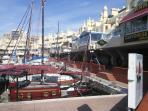 World famous marina with many varied  restaurants to suit most tastes.