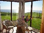 Sun Lounge - fabulous panoramic views to Ayrshire, Kintyre, and even over to Ireland!
