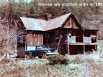 what our house looked like  in 1984.