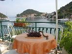 Ruzmarin(4+1): terrace view