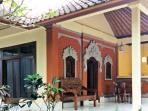 Lovely, Newly Refreshed, Authentic Balinese-style villa with modern amenities inside, large private