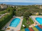 2 pools only for you with Views over the Valley and the Mediterranean Sea