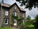 Kirkbeck House - Lakeland stone built semi-detached house.