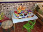 Train table for young ones as well as old!
