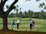 Palmas has two 18-hole Championship Golf Courses. You play at a discount.