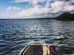 Launch your kayak or boat. Enjoy the sights and wildlife on the Indian River.