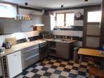 Kitchen with dishwasher, ofen, microwave etc. Kenavo