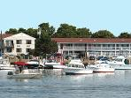 BEAUTIFUL VIEW OF THE HARBOR! WALKING DISTANCE TO FERRY AND TOWN AND BEACH