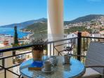 Spectacular views over Kalkan and the Mediterranean
