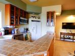 Fully stocked kitchen for the chef in the family.