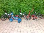 childrens bikes free for guest use