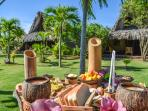 Chalet Tropical Special Breakfast: US$ 10, per person, available on demand