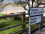 FANTASTIC  LOCATION,    CLOSE TO NEWQUAY TOWN CENTRE !