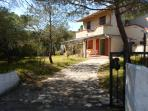 The house is on the ground floor of a four-family, just 300 meters from the sea.