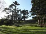 View across Parc Bron y Graig.