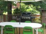 Terrasse extérieur / Backyard patio