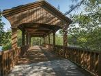 Enjoy a walk in a Greynolds Park (walking distance from the park)