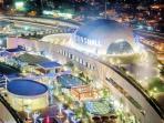 SM Aura's Sky Park, the mall's multi-level roof garden
