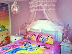Romantic Dream Princess Room Sea World sliding door,queen bed, 55-inch LCD TV