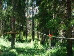 Summer Rental with Free Rope Park for Adults and Children