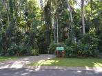 Entry to Rainforest House Kuranda
