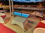 Villa SMRIKVE LOUNGE - US OPEN terrance lounge seat area