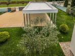 Villa SMRIKVE LOUNGE - carpot -  terrace view