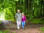 Woods Trail (5 minutes walk away)