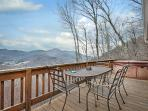 Have you meals on the deck and just enjoy those views.