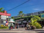 Shopping center of Seminyak Square close to the villa.