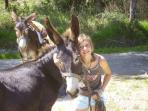 Photo souvenir avec Ulysse et Aîda