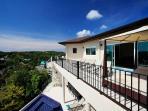 Fabulous Infinity Edge Swimming Pool with sun deck and sea views