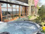 Hot tub hire is available as an optional extra - please enquire