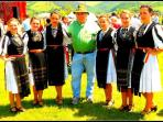 Hi Folks I'm your host Roger having fun with friends I think you too you will enjoy Romania for sure